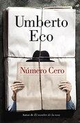 Número Cero (a Vintage Español Original) (spanish Edition) - Umberto Eco - Vintage Espanol