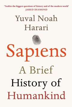 portada Sapiens: A Brief History Of Humankind
