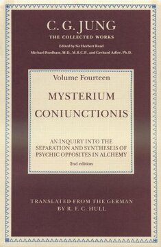 portada Mysterium Coniunctionis: An Inquiry Into the Separation and Synthesis of Psychic Opposites in Alchemy: Volume 10 (Collected Works of C. G. Jung) (libro en Inglés)