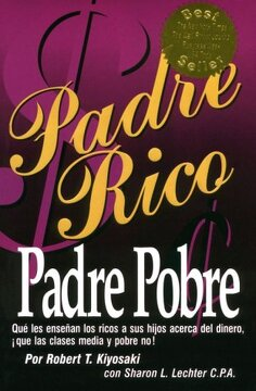 portada Padre Rico, Padre Pobre (spanish Edition)