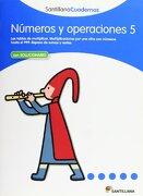 NÚMEROS Y OPERACIONES 5 SANTILLANA CUADERNOS - Vv.Aa. - Santillana