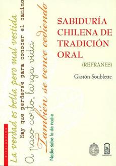 portada Sabiduría Chilena de Tradición Oral. (Refranes).