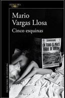 portada Cinco Esquinas - Mario Vargas Llosa - Alfaguara