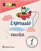 Llengua 1 Quadern Expressio Escrita (zoom) (libro en catalan) - O. Serdà;D. Rius;A. Oliveras;L. Cugat;C. Martín;L. Blanco - Editorial Vicens Vives