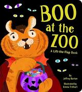 Boo at the Zoo: A Lift-The-Flap Book (libro en Inglés) - Jeffrey Burton - Little Simon