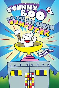 portada Johnny boo and the ice Cream Computer (Johnny boo Book 8) (libro en Inglés)