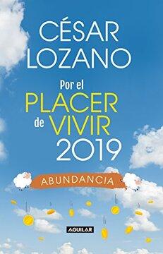 portada Libro Agenda. Por el Placer de Vivir 2019