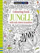 Colouring Book Jungle with Rub Down Transfers (Paperback) (libro en Inglés)