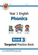 New Ks1 English Targeted Practice Book: Phonics - Year 1 Boo (libro en Inglés)