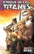 Attack on Titan #23 - Editorial Panini Mexico Sa De Cv - Panini Manga