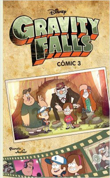 portada Gravity Falls. Comic 3