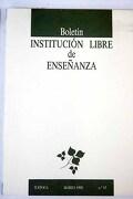 Boletín de la Institución Libre de Enseñanza, Número 13, Marzo 1992