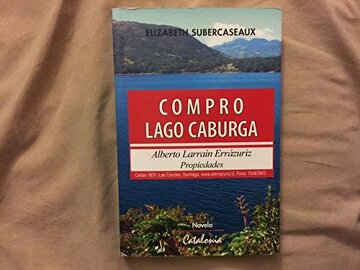portada Compro Lago Caburga: Novela