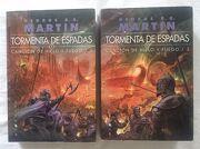 TORMENTA DE ESPADAS (Vol. I y II). Canción de hielo y fuego III.