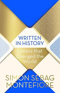 portada Written in History: Letters That Changed the World (libro en Inglés)