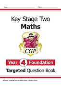 New ks2 Maths Targeted Question Book: Year 4 Foundation (libro en Inglés)