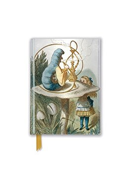 portada British Library Tenniel: Alice (Foiled Pocket Journal) (Flame Tree Pocket Books) (libro en Inglés)