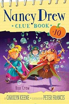 portada Boo Crew (Nancy Drew Clue Book) (libro en Inglés)
