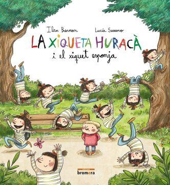 portada La Xiqueta Huracà i el Xiquet Esponja (libro en Catalan)