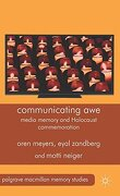 Communicating awe (Palgrave Macmillan Memory Studies) (libro en Inglés)