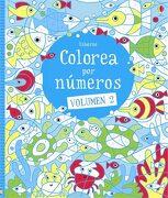 Colorea por Números. Volumen 2 - Usborne - Usborne