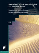 Aportaciones Teóricas y Metodológicas a la Educación Musical - Maravillas Diaz,Andrea Giraldez - Editorial Grao