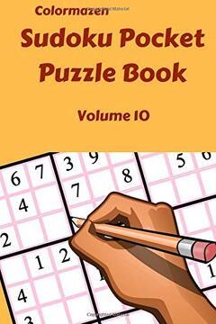 portada Sudoku Pocket Puzzle Book  Volume 10 (Sudoku Pocket Puzzle Books) (libro en Inglés)