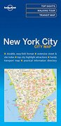 Lonely Planet new York City map (libro en inglés) - Lonely Planet - Lonely Planet
