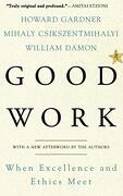 Good Work: When Excellence and Ethics Meet (libro en inglés) - Howard Gardner - Basic Books