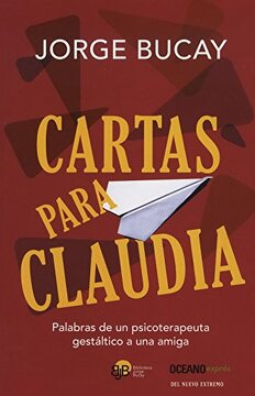 portada Cartas Para Claudia = Letter to Claudia (Biblioteca Jorge Bucay)