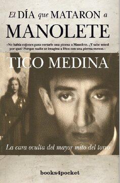 portada El día que Mataron a Manolete (Narrativa (Books 4 Pocket))