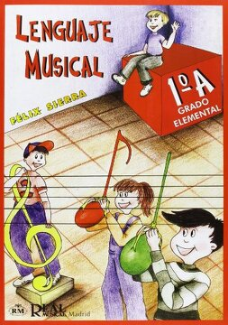 portada Lenguaje Musical, Grado Elemental 1°a (rm Lenguaje Musical)