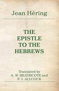 The Epistle to the Hebrews (libro en inglés) - Jean Hering - Wipf & Stock Publ