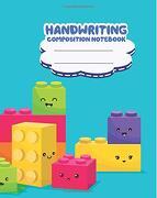 Handwriting Composition Notebook, Cute Colorful Emoji Lego: Kids School Supplies,100 Sheets Primary Journal K-2Nd Grade (libro en inglés)