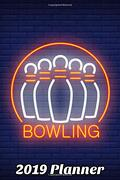 """2019 Planner Bowling Vol. 6: 6""""X9"""" Weekly Planner Pages With Notes for Overflow (libro en inglés)"""
