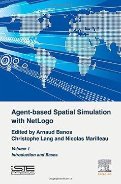 portada Agent-Based Spatial Simulation With Netlogo Volume 1 (libro en inglés)