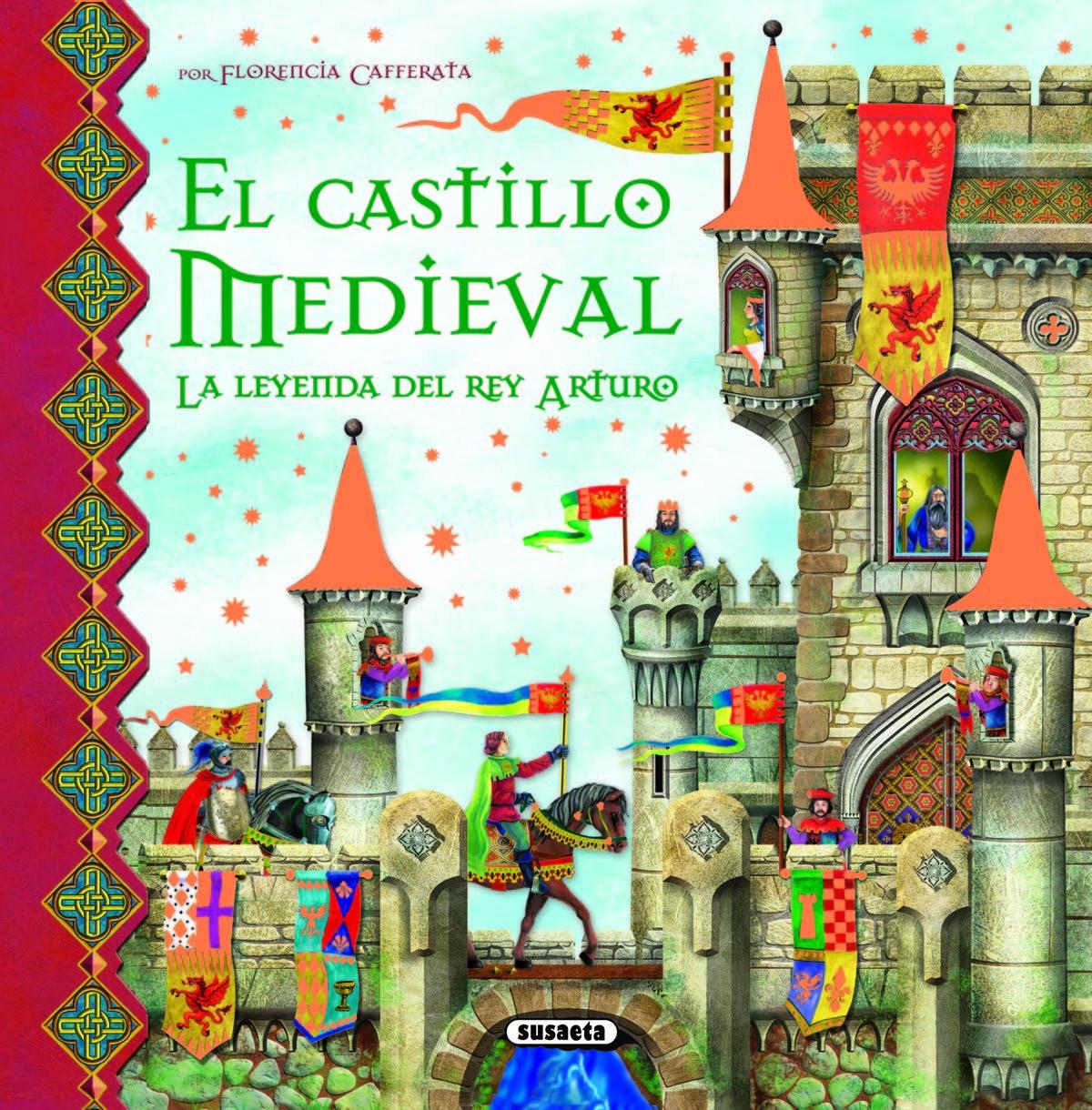 Castillo medieval.leyenda rey arturo.(escenarios fantasticos florencia cafferata