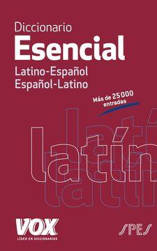 portada Diccionario Esencial Latino-Español, Español-Latino