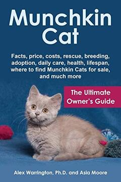 portada Munchkin Cat: The Ultimate Owner's Guide (libro en inglés)