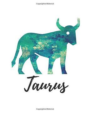 portada Taurus: Taurus dot Grid Journal (libro en inglés)