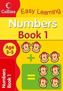 Numbers age 3-5: Book 1 (Collins Easy Learning age 3-5) by Harpercollins uk (2008) Paperback (libro en inglés) - Collins Easy Learning - Collins