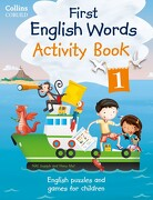 Collins First English Words - Activity Book 1 Collins First English Words (+Cd) (libro en inglés) - Harpercollins Uk - Collins