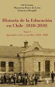 Historia de la Educacion en Chile, Tomo i - Francisca Rengifo Sol Serrano, Macarena Ponce De Leon - Aguilar