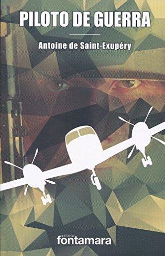 Piloto de guerra antoine de saint-exupéry