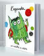 L'agenda del Monstre de Colors - Anna Llenas - Editorial Flamboyant, S.L.