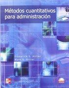 Métodos Cuantitativos Para Administración - Frederick Hillier; Mark Hillier - Mcgraw-Hill