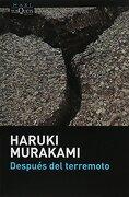 Despues del Terremoto - Haruki Murakami - Tusquets