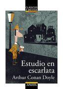 Estudio en Escarlata - Arthur Conan Doyle, - Anaya