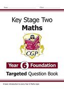 New ks2 Maths Targeted Question Book: Year 6 Foundation (libro en inglés)