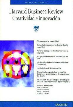 portada Creatividad e Innovación (Harvard Business Review)